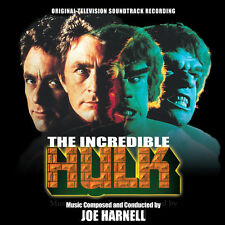 Joe Harnell: Music from THE INCREDIBLE HULK OST CD
