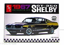 1967 Shelby GT-350 Ford Mustang AMT 800 1/25 New Car Model Kit