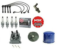 Tune Up Kit Filters,Cap,Rotor,Wires & NGK  Plugs Civic EX 1.6 D16Y8