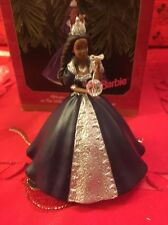Christmas Hallmark Keepsake African American Barbie Ornament New In Box
