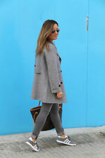 ZARA GREY OR CAMEL HAND MADE WOOL COAT WITH POCKETS FW15 SIZE S S & L LAST SIZES