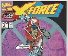 X-FORCE #2 DEADPOOL is BACK! The Blood Hunters Sept. 1991 in VF/NM condition DM