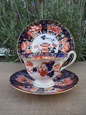 Wileman Pre Shelley, Gainsborough, Imari Tea Trio, Cup, Saucer, Plate  #SE589