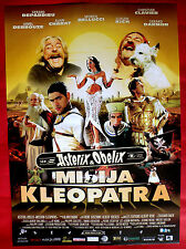 ASTERIX OBELIX MISSION CLEOPATRA 2002 DEPARDIEU CLAVIER SERBIAN MOVIE POSTER