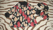 CORKY & CO COMPANY GIRLS 6 FLORAL COAT HAT MITTENS SET