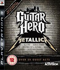 Guitar Hero: Metallica ~ PS3 (Comme Neuf en Condition)
