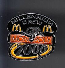 RARE PINS PIN'S .. MC DONALD'S RESTAURANT JEU GAME MONOPOLY 2000 ~12