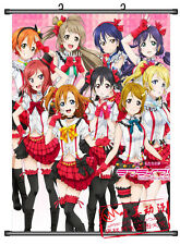Home Decor Japanese Wall poster Scroll Love live School Idol Project Whole Art