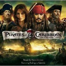 Pirates of the Caribbean 4: on Stranger Tides CD NUOVO