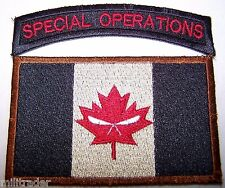 Canada Canadian Joint Task Force 2 (JTF2) Patch