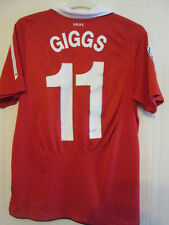 Manchester United Giggs 2010-2011 Home Football Shirt Size Medium /35265