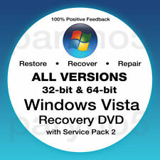 Windows vista recovery disk all versions