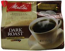 108 Melitta Dark Roast Coffee Pods Fresh 18 x 6 Packs Senseo Hamilton Beach