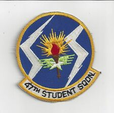 """PATCH USAF 47tH STUDENT SQUADRON   4 1/2"""""""