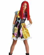 Tween Sally Costume Burton's Nightmare Before Christmas Teen - M 7-8 - Fast -