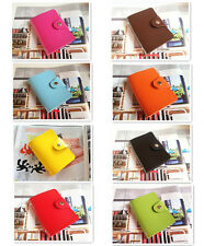 Leather Card Holder Case Wallet Purse Credit Cards Business Cards ID Cards New