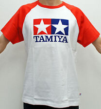 Tamiya Raglan Sleeve T-shirt (Red) L size CL-66730