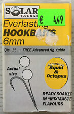 Solar tackle Everlasting hookbaits 6mm pop ups Japanese Squid & Octopus gene!
