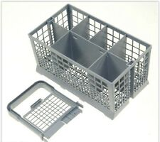 FREE STANDING UNIVERSAL FIT DISHWASHER SAFE 6 COMPARTMENT CUTLERY STORAGE BASKET