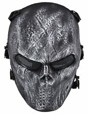 Black CS Mask Airsoft Paintball Tactical Military Halloween