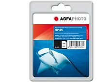AGFA PHOTO HP 45  51645 ae .DJ-710C deskjet  990 INK BK 42ml black Neuware 2015