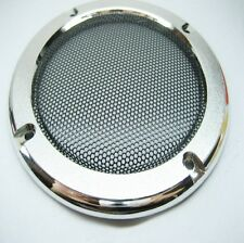 "2pcs 4""inch Silver Speaker decorative circle protective grille"