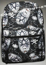 "DISNEY NIGHTMARE BEFORE CHRISTMAS BACKPACK 16"" JACK SKELLINGTON ALL PRINT NWT"