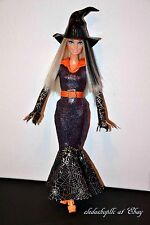 PRETTY HALLOWEEN FASHION WITCH BARBIE DOLL