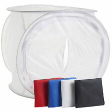 50CM Photo Soft Light Box Tent Cube 4 Colour Backdrop