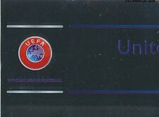 N°002 UNITED AGAINST RACISM 1/2 UEFA CHAMPIONS LEAGUE 2013 STICKER PANINI