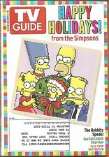 TV Guide December 12 2004 Happy Holidays from the Simpons~The Hobbits Speak!