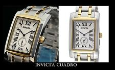 INVICTA CUADRO Swiss Two-Tone Stainless Steel Watch.Free Shipping Christmas Gift