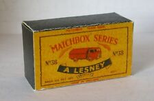 Repro Box Matchbox 1:75 Nr.38 Karrier Refuse Collector