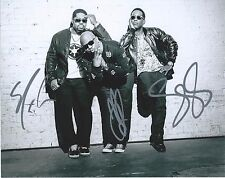 BOYZ II MEN signed 8x10 PHOTO NATHAN WANYA MORRIS SHAWN STOCKMAN COA PROOF