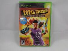 Total Overdose: A Gunslinger's Tale in Mexico  (Xbox, 2005) Brand New & Sealed!