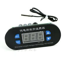Digital LED Heat Cool Thermostat Temperature Controller Sensor Hottest DC 12V