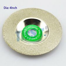 4inch 100mm Diamond Coated Rotary Glass Tile Grinding Grind Round Wheel