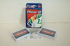 NEW PHASE 10 CARD GAME 2007 FUNDEX FACTORY SEALED CARDS & INSTRUCTIONS