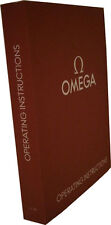 Omega Operating Watch Instructions Booklet Manual User Guide 1/16
