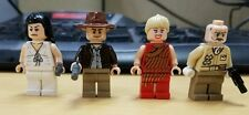 Lego Indiana Jones JR. & SR. Marion Ravenwood, WILLIE SCOTT minifigure Lot of 4