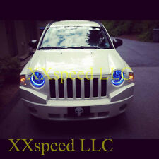 ORACLE Jeep Liberty 02-07 BLUE LED Headlight Halo Angel Demon Eyes Rings