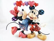"""""""Love Is In The Air"""" - Mickey and Minnie - Disney Traditions by Jim Shore - NIB"""