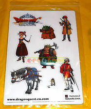 DRAGON QUEST THE JOURNEY... Set di Adesivi Magnetici (Magnetic Stickers) ○ NUOVO