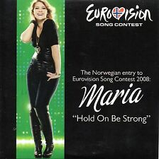 DVD  single EUROVISION 2008 Norvège : Maria Haukaas Storeng Hold on be strong