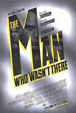 THE MAN WHO WASN'T THERE (2001) ORIGINAL MOVIE POSTER SILVER VERSION ROLLED