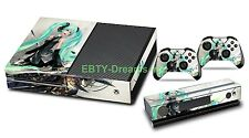 Hatsune Miku Vocaloid Anime Girl Vinyl Skin Sticker Decal Protector for Xbox One
