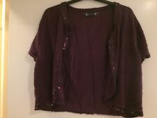 Size 22 Joanna Hope Purple Shrug