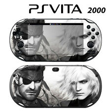 Vinyl Decal Skin Sticker for Sony PS Vita Slim 2000 MGS GA11