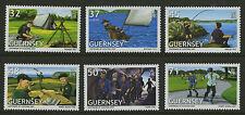 Guernsey 2007  Scott # 932- 937  Mint Never Hinged Set