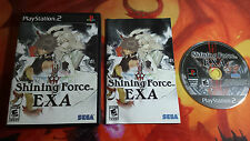 SHINING FORCE EXA NTSC USA PLAYSTATION 2 PS2 ENVOI 24/48H